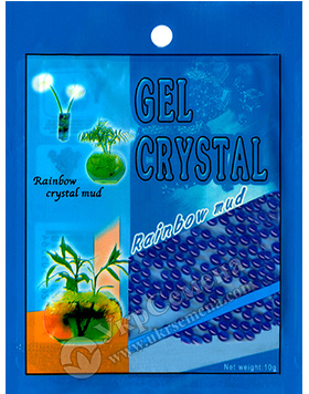 Гидрогель Gel Crystal 10 г (синий)