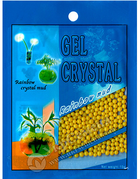 Гидрогель Gel Crystal 10 г (желтый)