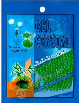 Гидрогель Gel Crystal 10 г (зеленый)